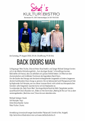 Back doors man - Stefs Kulturbistro Ostermundigen
