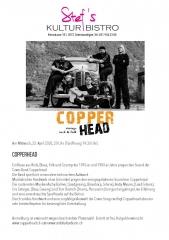 Copperhead 2020 - Stefs Kulturbistro Ostermundigen