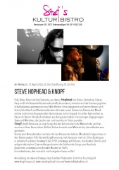 Steve Hopehead und Knopf  - Stefs Kulturbistro Ostermundigen