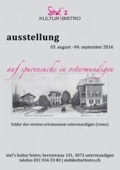 Ortsmuseum Plakat