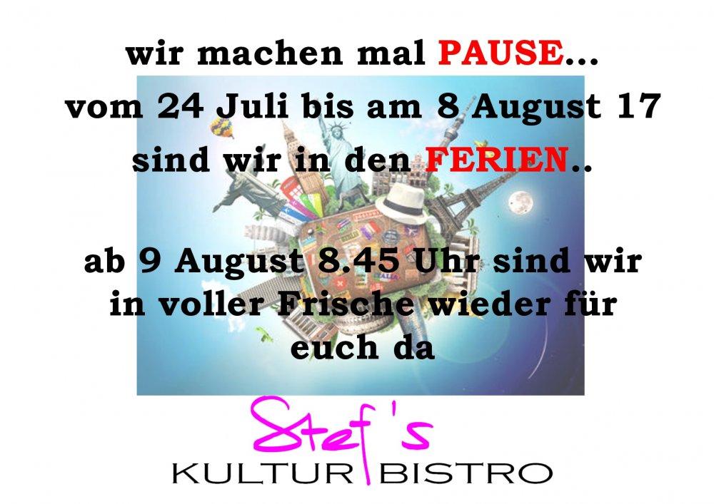 PAUSE - Stefs Kulturbistro Ostermundigen