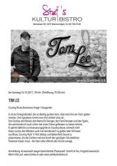 Tom Lee - Stefs Kulturbistro Ostermundigen