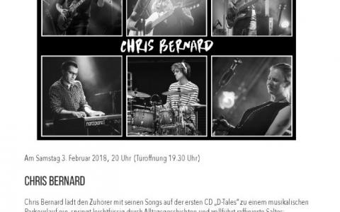 Chris_Bernard - Stefs Kulturbistro Ostermundigen