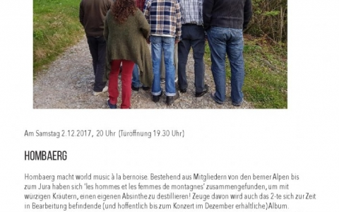 Hombaerg - Stefs Kulturbistro Ostermundigen