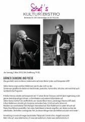 Heimoz Wafelmann - Stefs Kulturbistro Ostermundigen