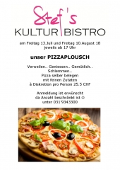 Pizza - Stefs Kulturbistro Ostermundigen