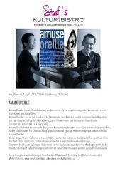 Amuse_Oreille - Stefs Kulturbistro Ostermundigen