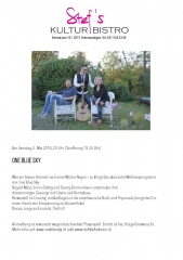 One Blue Sky - Stefs Kulturbistro Ostermundigen