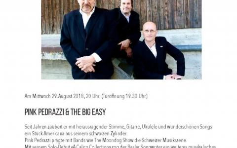 Pink_Pedrazzi - Stefs Kulturbistro Ostermundigen