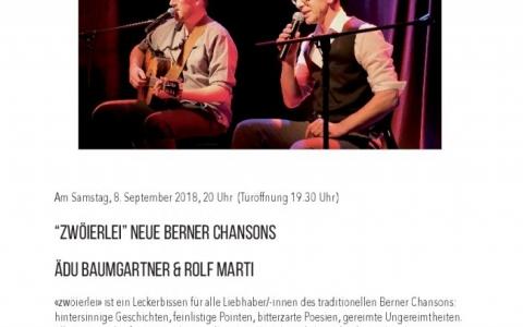 Rolf Marti und Aedu  - Stefs Kulturbistro Ostermundigen