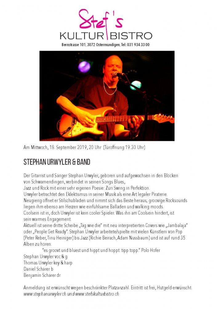 Stephan_Urwyler - Stefs Kulturbistro Ostermundigen