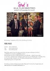 Rebel Rules  - Stefs Kulturbistro Ostermundigen