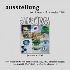 Johanna Stroebel Ausstellung  - Stefs Kulturbistro Ostermundigen