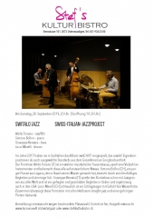 Switalo Jazz  - Stefs Kulturbistro Ostermundigen