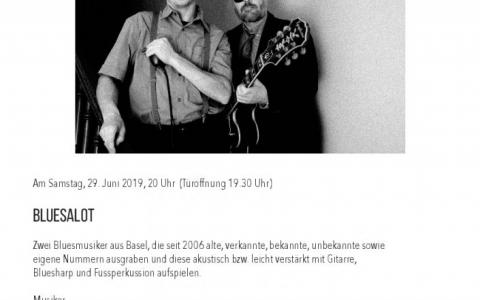 Bluesalot - Stefs Kulturbistro Ostermundigen
