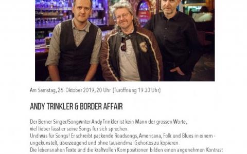 Border Affair  - Stefs Kulturbistro Ostermundigen