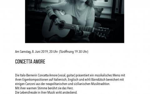Concetta Amore - Stefs Kulturbistro Ostermundigen
