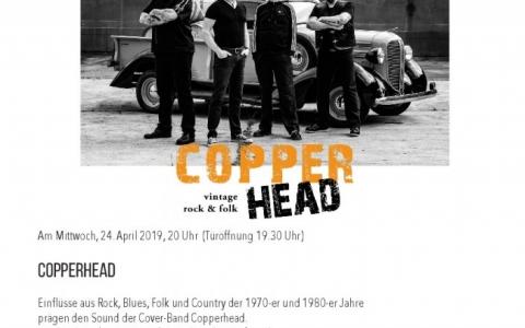 Copperhead - Stefs Kulturbistro Ostermundigen