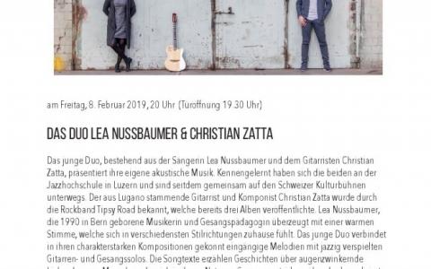 Lea Nussbaumer - Stefs Kulturbistro Ostermundigen