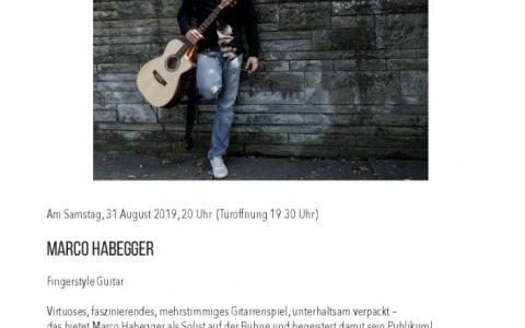 Marco Habegger - Stefs Kulturbistro Ostermundigen