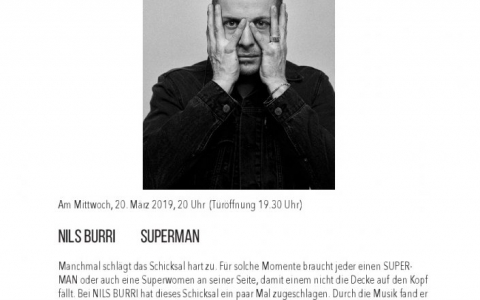 Nils Burri - Stefs Kulturbistro Ostermundigen