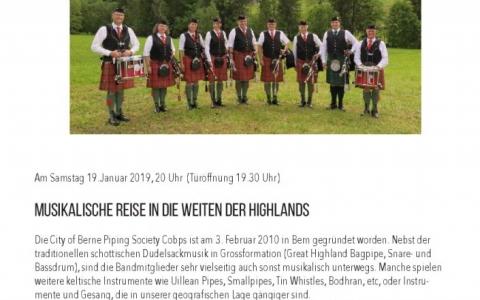 Pipeband - Stefs Kulturbistro Ostermundigen