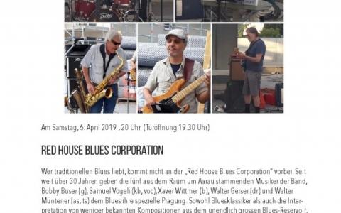 Red House Blues - Stefs Kulturbistro Ostermundigen