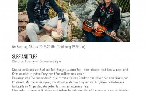 Surf and Turf  - Stefs Kulturbistro Ostermundigen