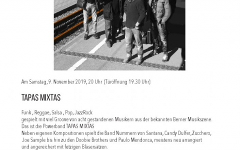 Tapas-Mixtas  - Stefs Kulturbistro Ostermundigen