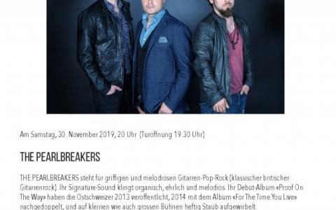 The Pearlbreakers  - Stefs Kulturbistro Ostermundigen