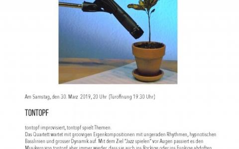 Tontopf - Stefs Kulturbistro Ostermundigen