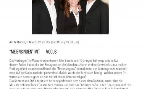 VOCUS - Stefs Kulturbistro Ostermundigen