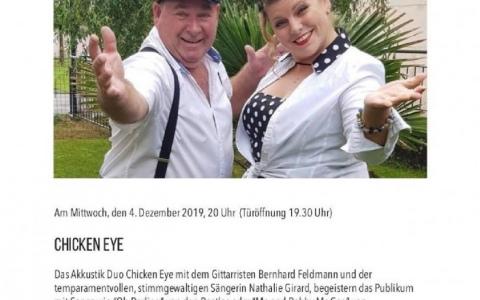 Chicken Eye  - Stefs Kulturbistro Ostermundigen