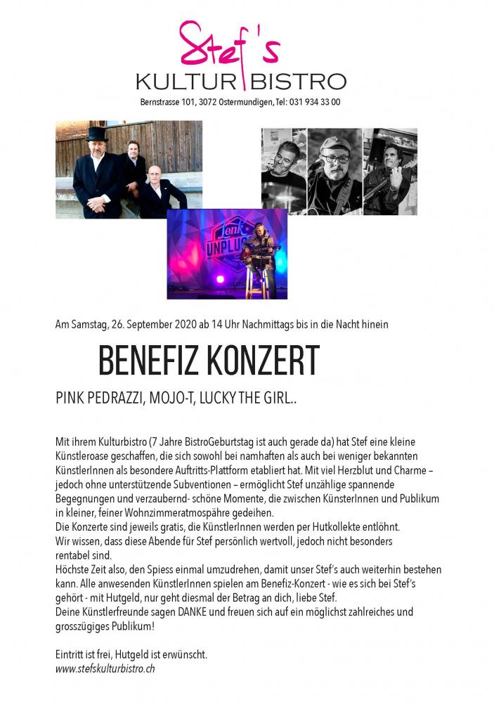 Benefiz - Stefs Kulturbistro Ostermundigen