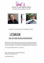 Liviau  und Bruno - Stefs Kulturbistro Ostermundigen