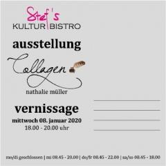 Vernissage Nathalie Mueller- Stefs Kulturbistro Ostermundigen