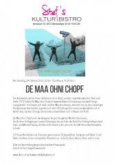 Der Maa ohni Chopf - Stefs Kulturbistro Ostermundigen