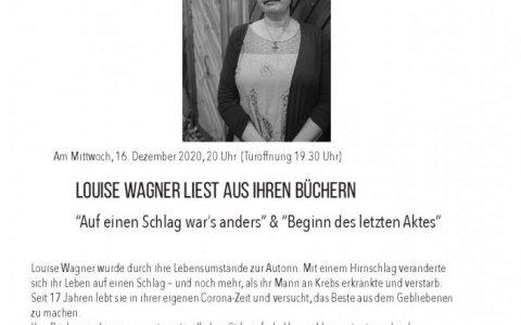 Luise Wagner - Stefs Kulturbistro Ostermundigen
