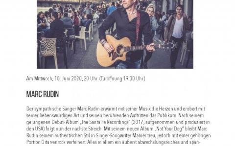 Marc Rudin - Stefs Kulturbistro Ostermundigen