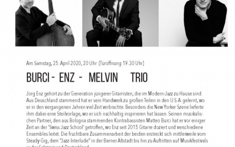 Burci - Enz - Melvin - Stefs Kulturbistro Ostermundigen