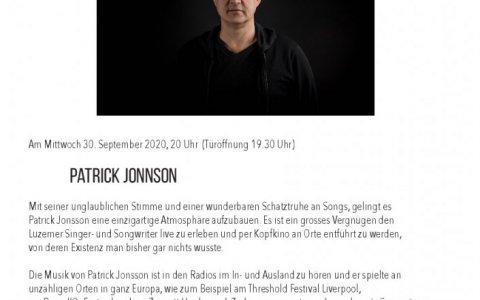 Patrick Jonnson - Stefs Kulturbistro Ostermundigen