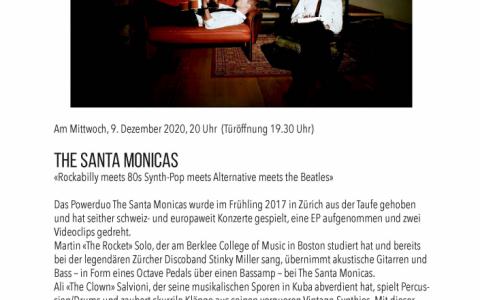 Santa Monicas  - Stefs Kulturbistro Ostermundigen