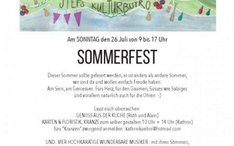 Sommerfest - Stefs Kulturbistro Ostermundigen