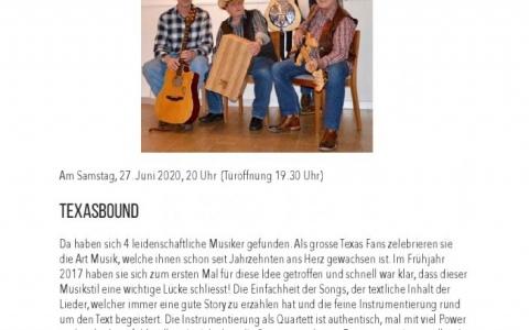 Texasbound - Stefs Kulturbistro Ostermundigen
