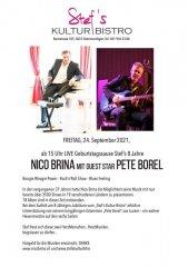 Nico Bina und Pete Borel - Stefs Kulturbistro