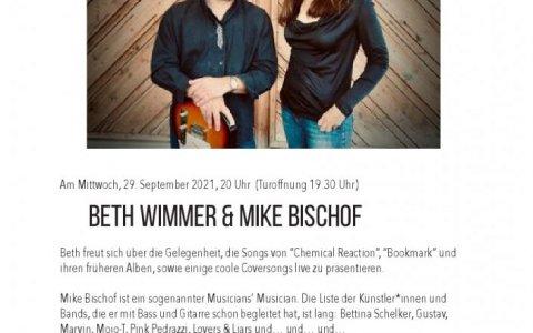 Beth und Mike - Stefs Kulturbistro