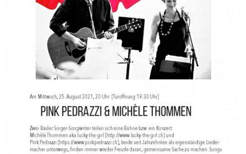 Michelle und Pink- Stefs Kulturbistro