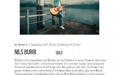 Nils Burri  - Stefs Kulturbistro