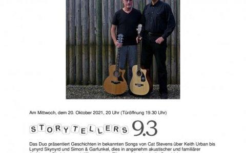 Storytellers 9.3 - Stefs Kulturbistro