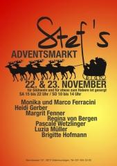 Weihnachtsmarkt bei Stef's